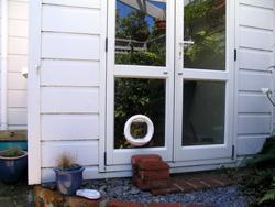Pams cat door